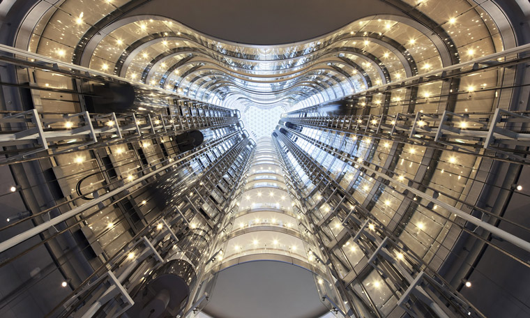 An atrium provides light and natural ventilation at 1 Bligh Street. Image: Architectus
