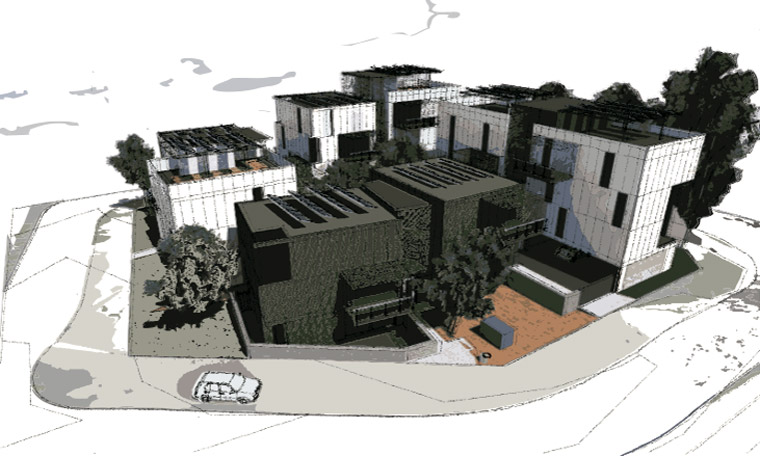 Artist's impression of what the WGV baugruppen development could look like.