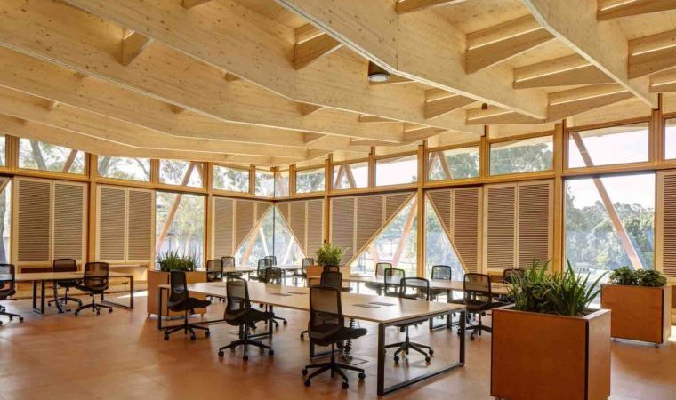 Macquarie University innovation hub interior
