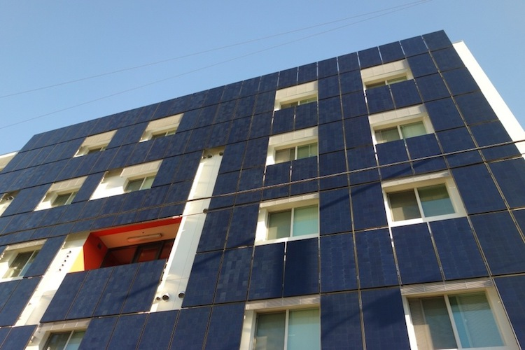 apartment solar facade