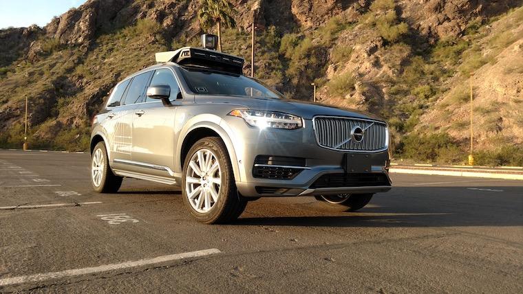 driverless über