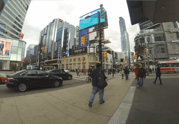 Toronto for pedestrians