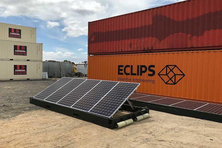 Pop-up solar PV set to replace diesel generators