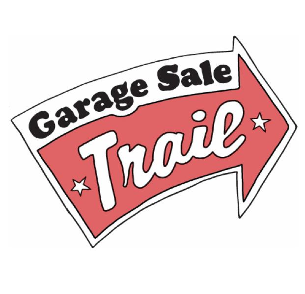 garage sale trail logo