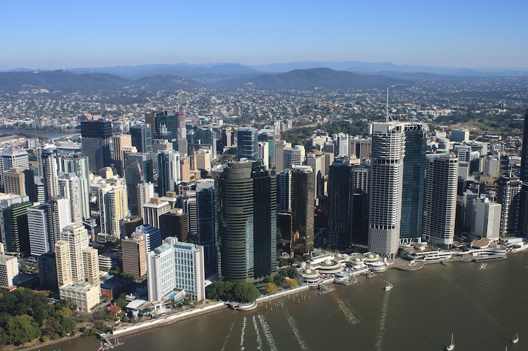 Brisbane river Queensland