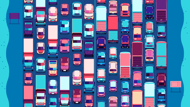 traffic scene road-based pricing