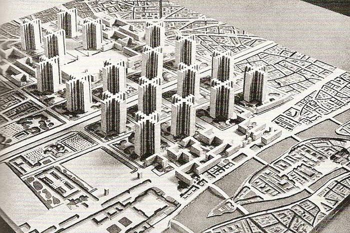 city making Ville Radieuse