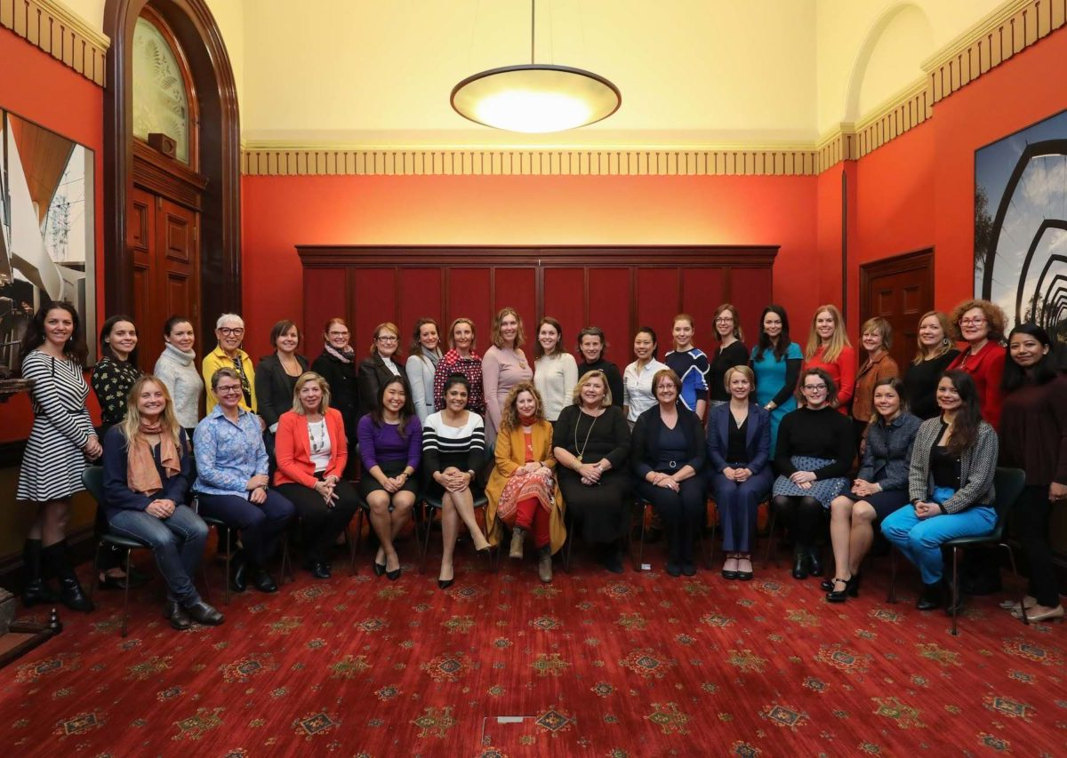 city of Sydney Women4Climate meeting in Sydney