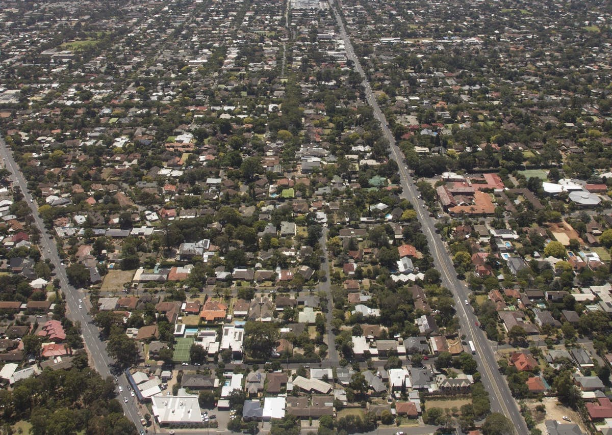 perth suburban sprawl