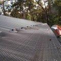 metal mesh gutter