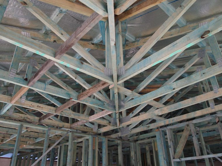 house ceiling structure