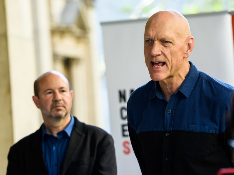 Peter Garrett and Michael E. Mann