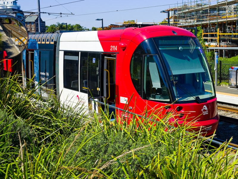 light rail Sydney, Australia