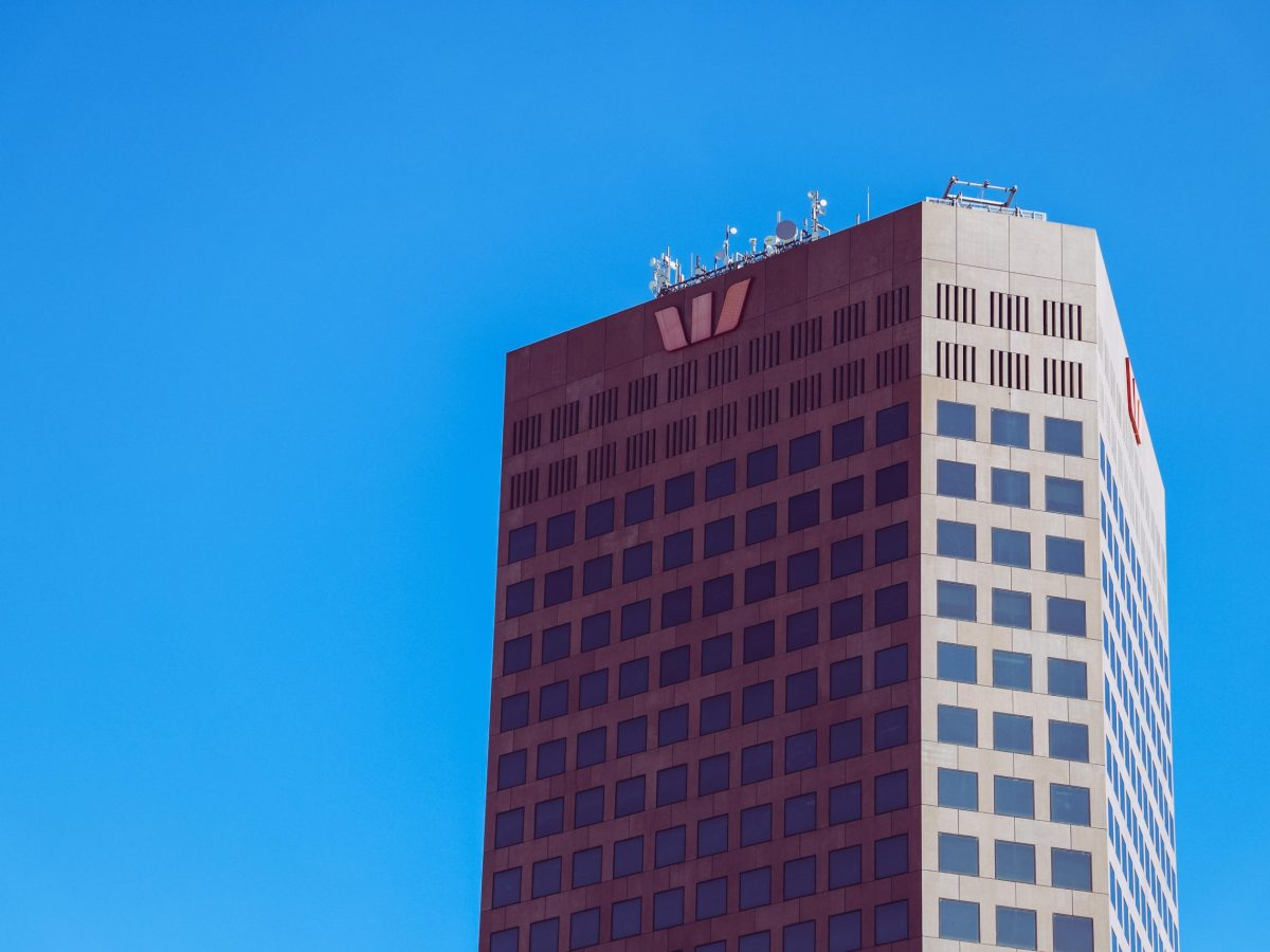 westpac building blue sky