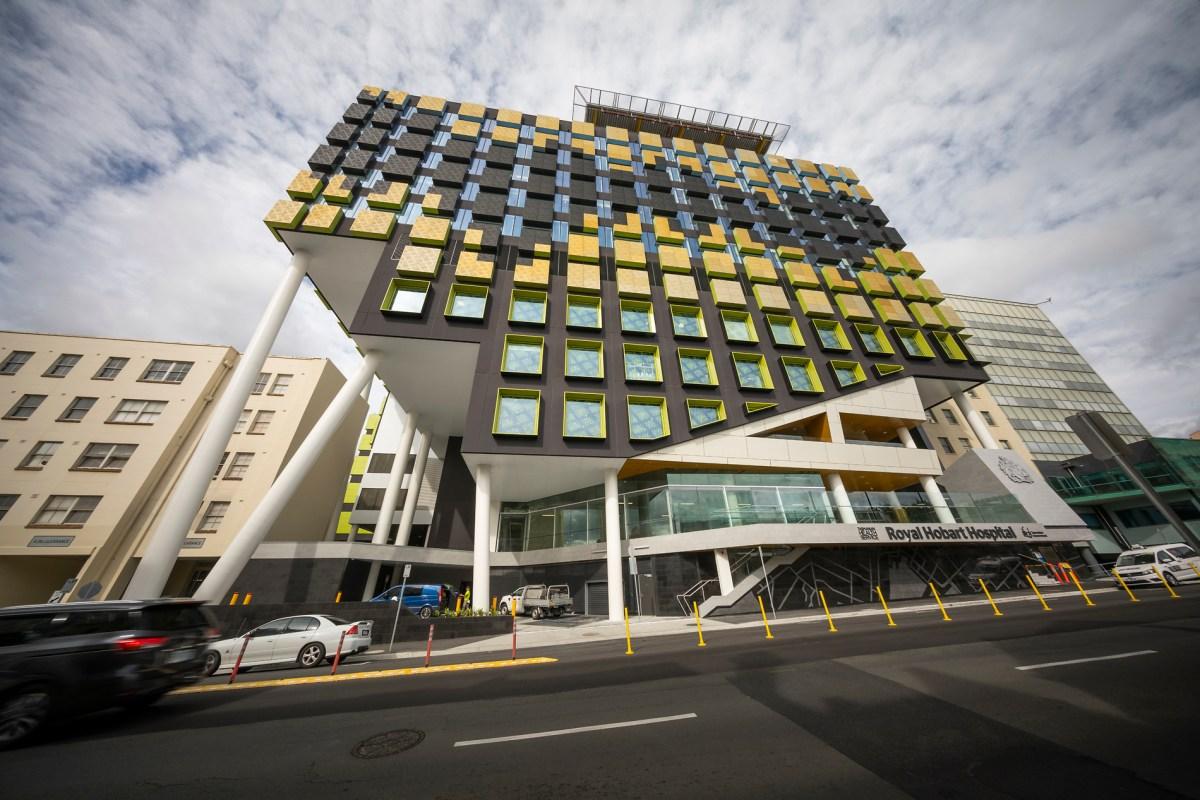 AECOM Royal Hobart Hospital front