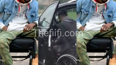Photo of Musician, Ogidi Brown Shows How He Gets Into His Car As A Disabled(Video)