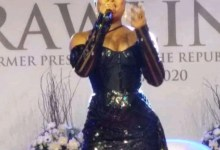 Photo of Video: Tears Drop As Adina Performs At Jerry John Rawlings Vigil