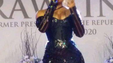 Photo of Video: Tears Drop As Adina Performs At Jerry John Rawlings Vigil