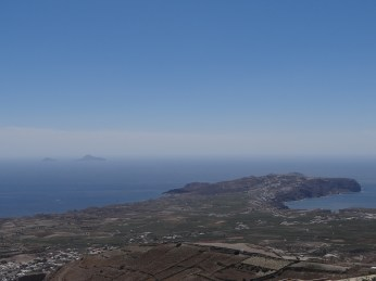 View from the highest point on the island.