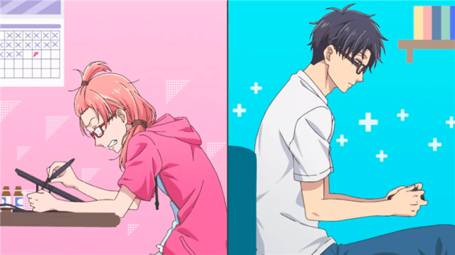 Wotakoi: Love Is Hard For Otaku, My Number One Pick For Top 10 Anime Of 2018