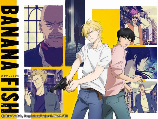 Banana Fish,  My Number Six Pick For Top 10 Anime Of 2018