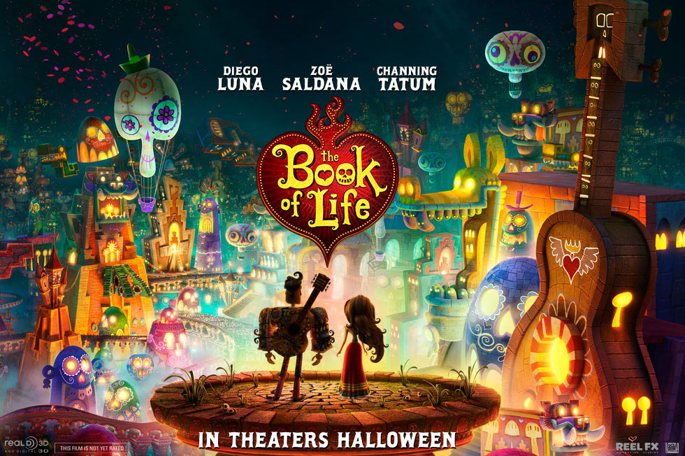 guillermo del toro opens the book of life in first trailer