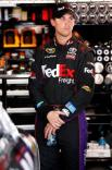 2012 NASCAR Martinsville March Denny Hamlin garage