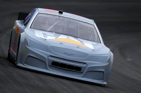 2012 CMS Testing Jeff Burton On Track