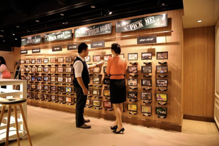 FRANK By OCBC Store Debit Card Design Merchandising