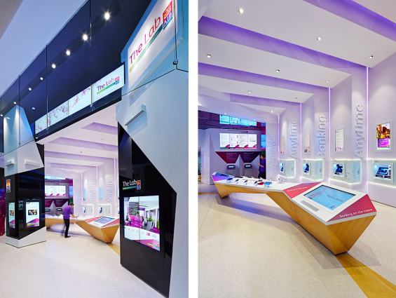 Retail Lab Oozing Tech Showcases Digital Banking Solutions