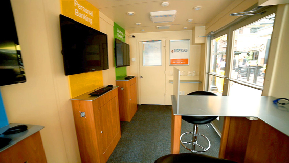 PNC Rolls Out First Ever Portable Pop Up Branch