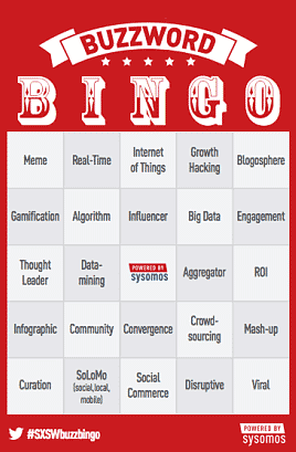 Is Marketing Analytics On The Buzzword Bingo Board