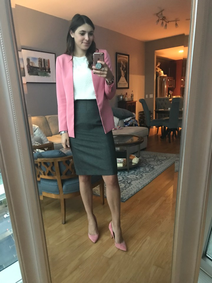 On Wednesdays We Wear Pink – The Blazer Edition