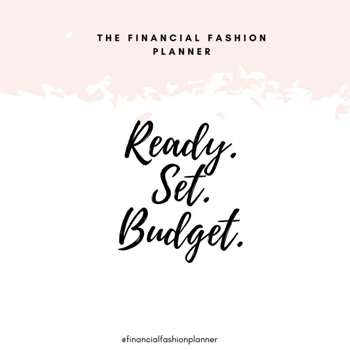 Ready. Set. Budget.