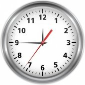 A picture of a clock to represent time considerations in an investment risk profile