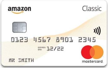 Amazon's classic credit card