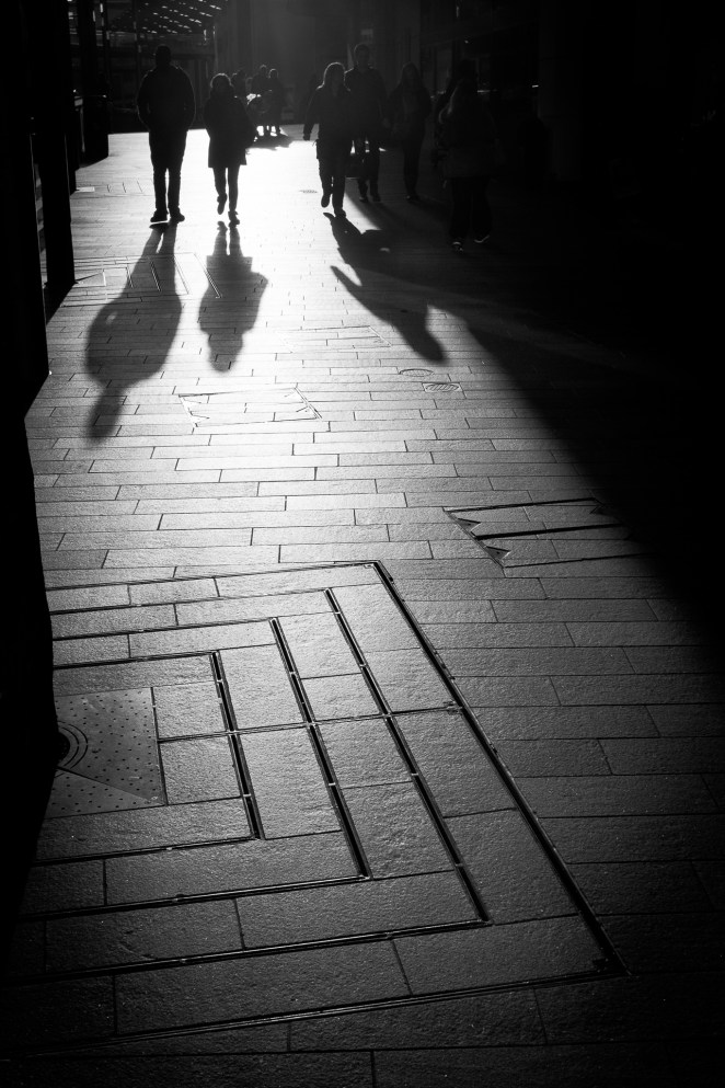 Three shadows | Liverpool Photo Walk 2015