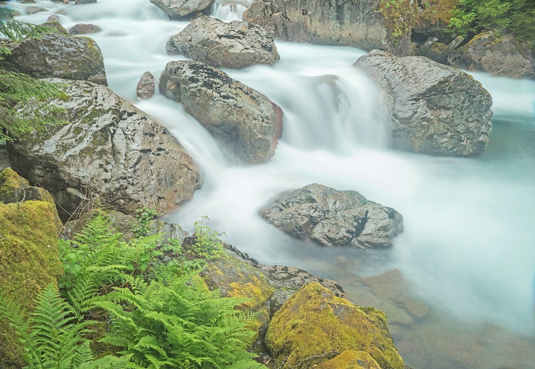 Sauk River Cascade
