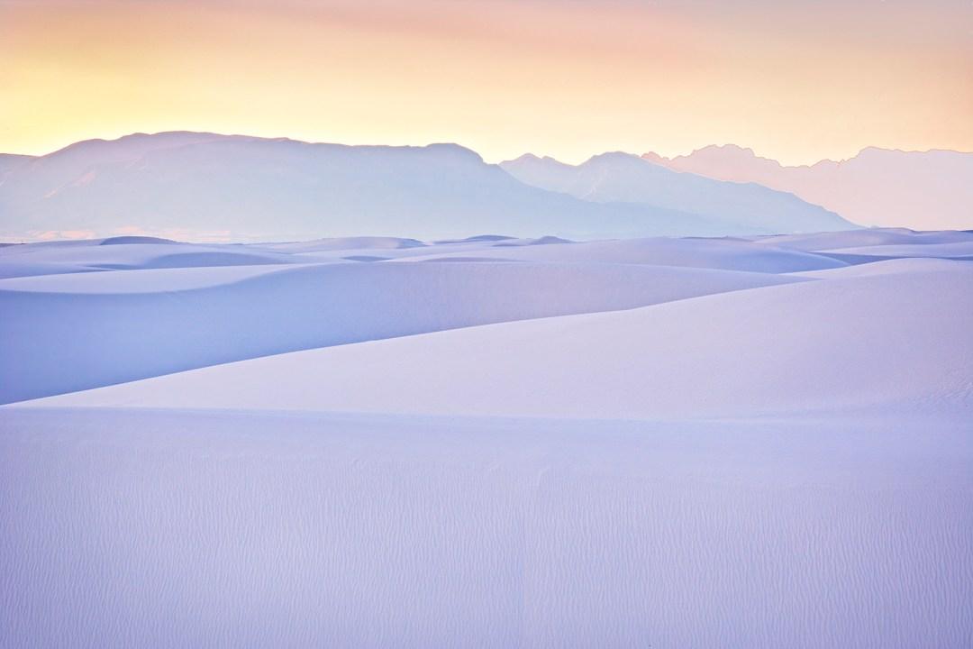 White Sands Pastel Sunset #2