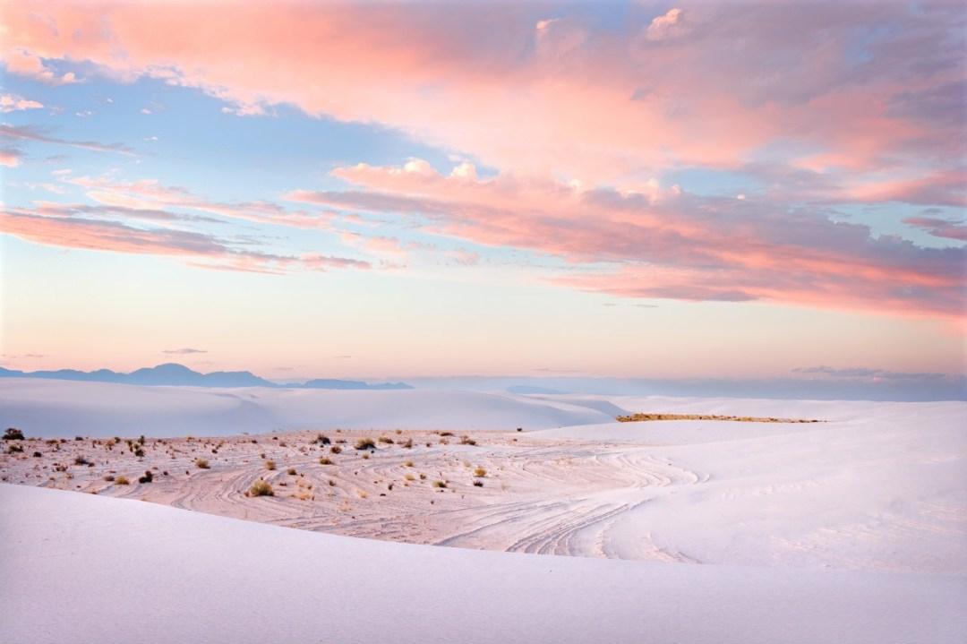 White Sands Pastel Sunset #3