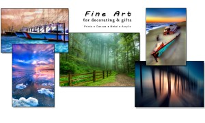 Fine art for decorating & gifts