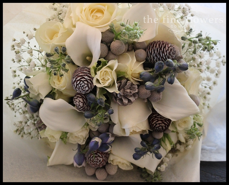 Winter Wedding Flowers At Botleys » The Fine Flowers