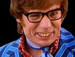 Image result for austin powers wink