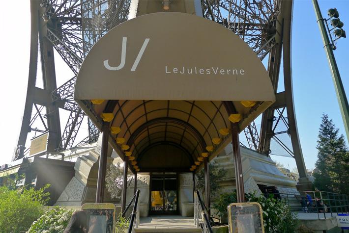 France, fine dining in France, Le Jules Verne