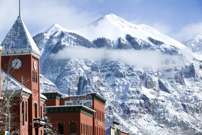 Telluride, Colorado, snow, ski, snow travel, Colorado live