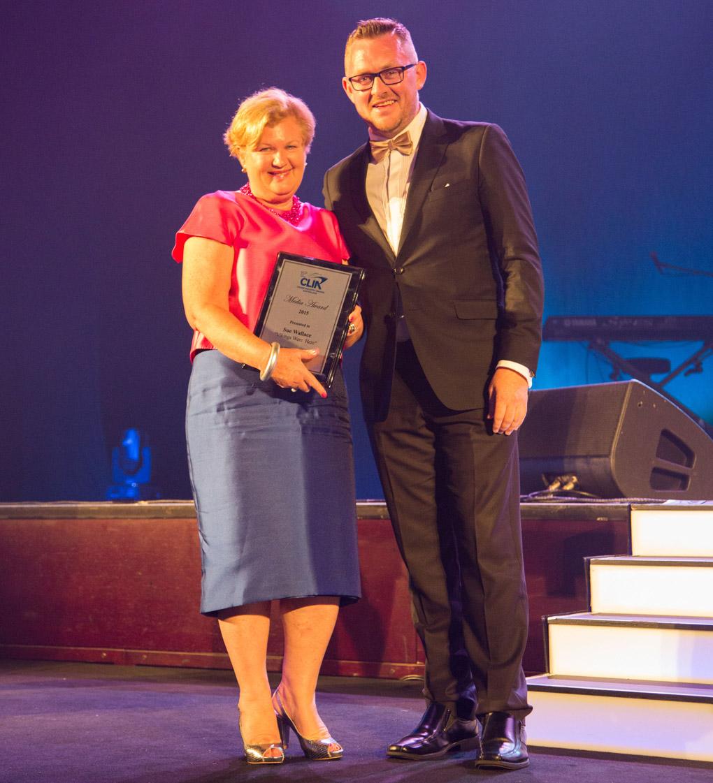 Sue Wallace award
