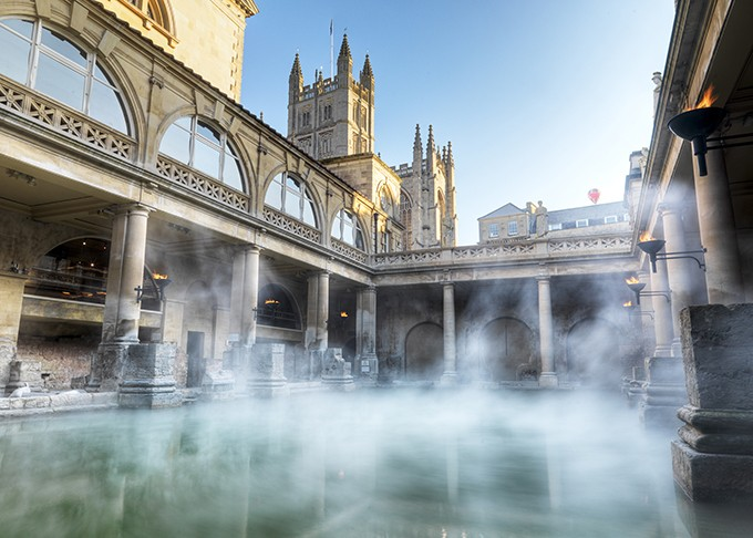 Bath's baths are absolutely beautiful
