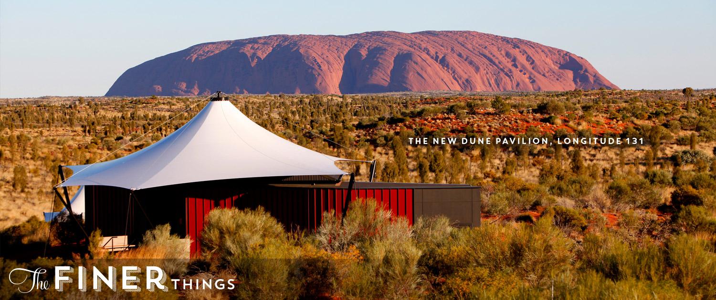 New Dune Pavilion Longitude 131 Uluru Australia Ayers Rock