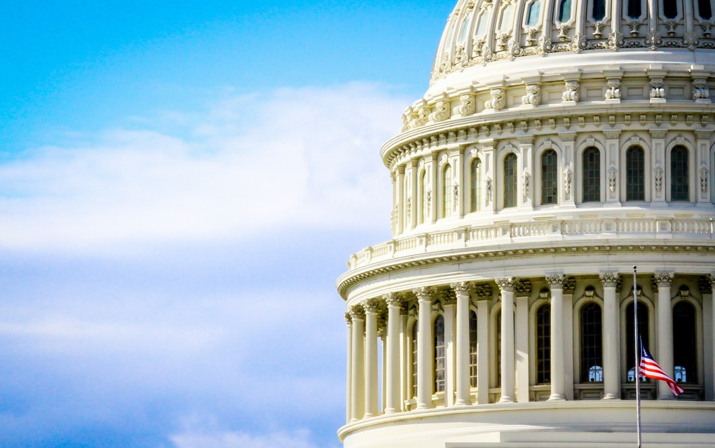 Washington, Capitol building exterior