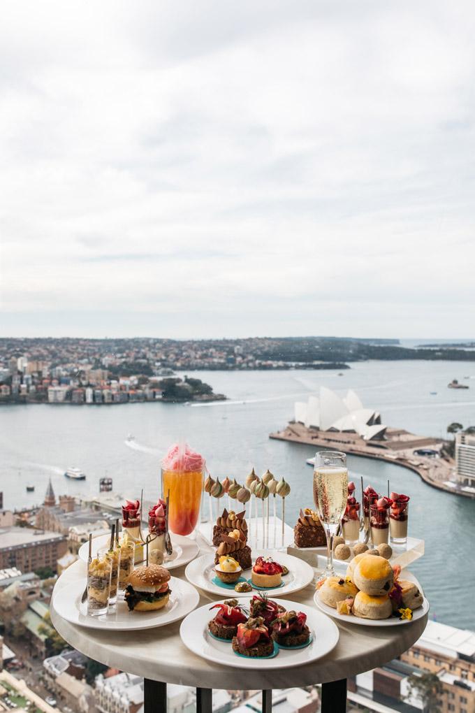 Anna Polyviou, High Tea, Shangri-La hotel Sydney